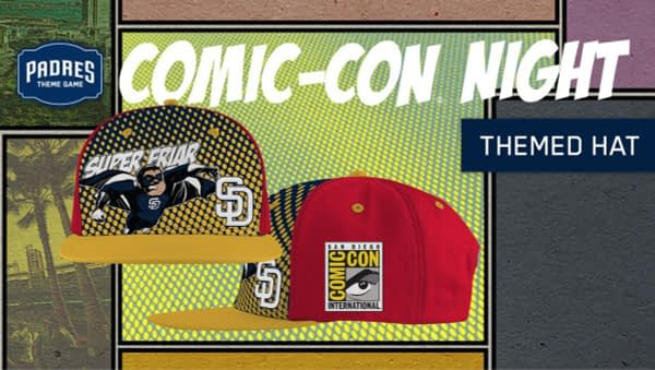 Super Friar SDCC Padres Hat Night