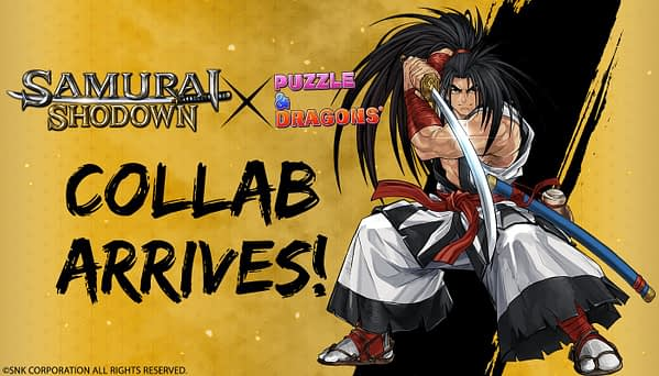 Samurai Shodown Comes to Puzzle & Dragons