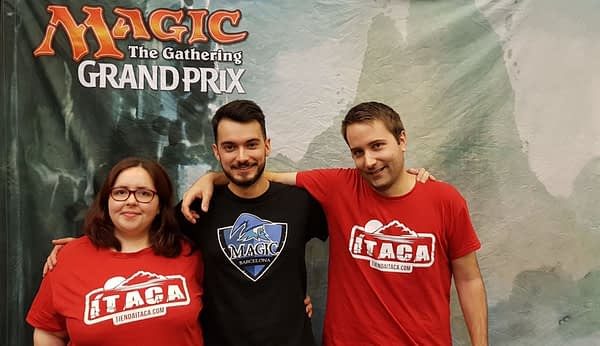 """Spanish Team Takes MagicFest Ghent! - """"Magic: The Gathering"""""""