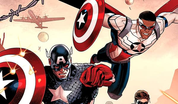 Cover to Generations: Captain America by Paul Renaud