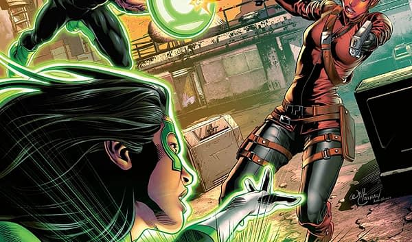 Green Lanterns #41 cover by Will Conrad and Ivan Nunes