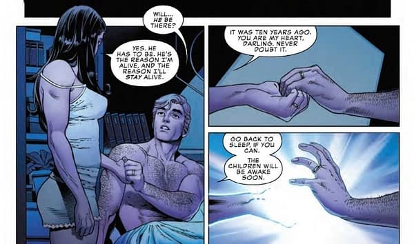 Would You Be Jealous if Wolverine Slept With Your Wife? Marvel Comics Presents #4 Preview