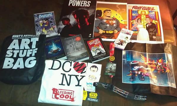 NYCC Swag