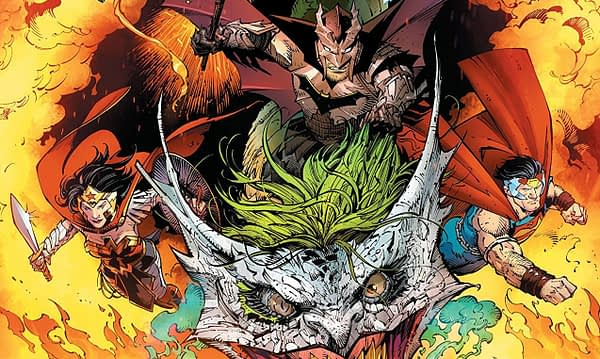 Dark Nights: Metal #6 cover by Greg Capullo, Jonathan Glapion, and FCO Plascencia