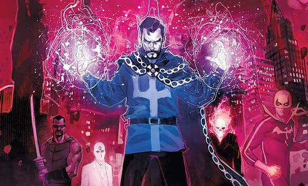 Doctor Strange: Damnation #1 cover by Rod Reis