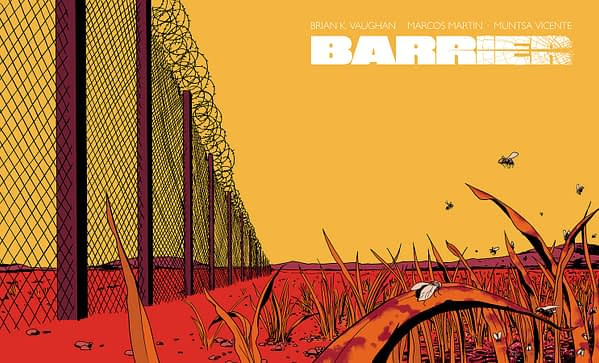 Barrier Limited Edition Slipcase Set - Slipcase Packaged With Barrier #1-5