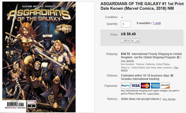 Asgardians Comic in Demand After Avengers: Endgame (Spoilers)