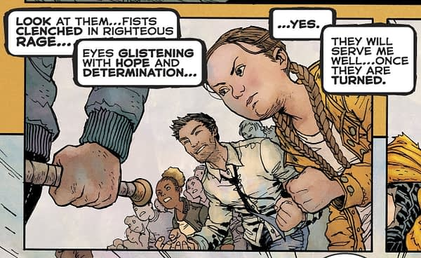 Greta Thunberg on Final Page of Batman: Dark Knight Returns: The Golden Child - Same Day as Time Magazine's Person Of The Year T
