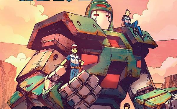 Mech Cadet Yu #7 cover by Takeshi Miyazawa and Raul Angulo