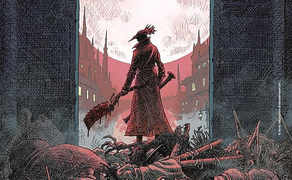Bloodborne #1 cover by Jeff Stokely
