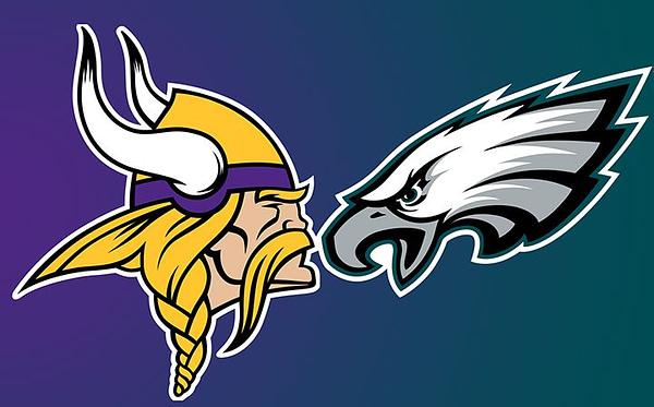 Vikings Eagles