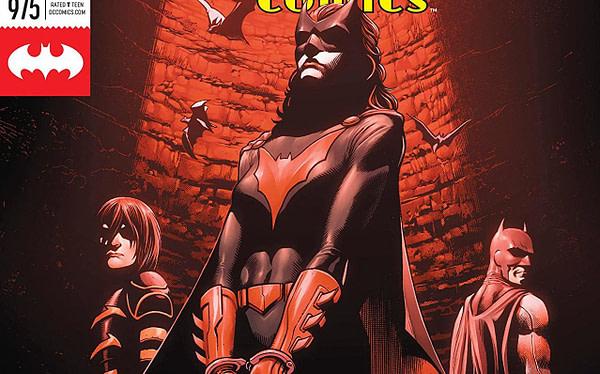 Batman: Detective Comics #975 cover by Alvaro Martinez, Raul Fernandez, and Brad Anderson