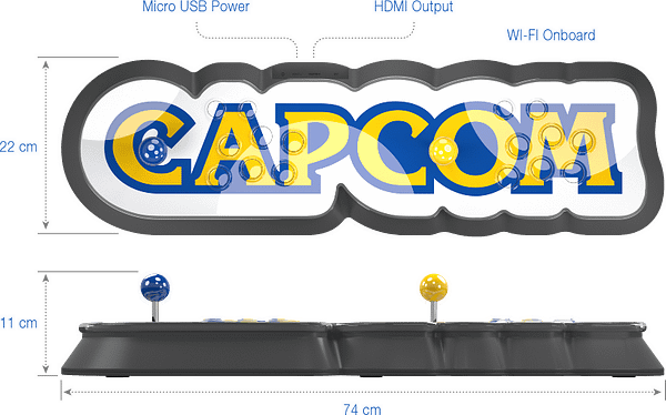Capcom Officially Announces the Capcom Home Arcade