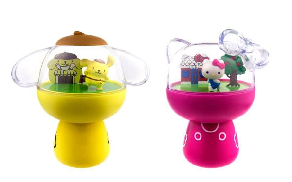 Toynami SDCC Exclusive Hello Sanrio Exculsive Two-Pack Set - Hello Kitty & Pompompurin