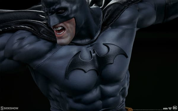 Superman Vs Batman Diorama Statue Sideshow 4