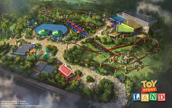 Toy Story Land Coming to Disney's Hollywood Studios