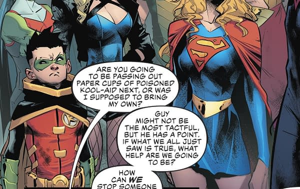Sorry Doomsday Clock, the Justice League Got There First (#30 Spoilers)