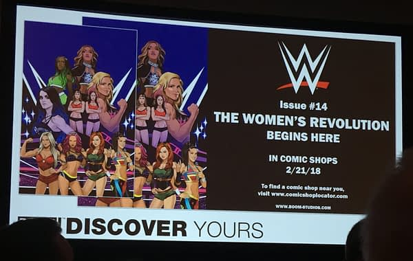 women's revolution wwe comics