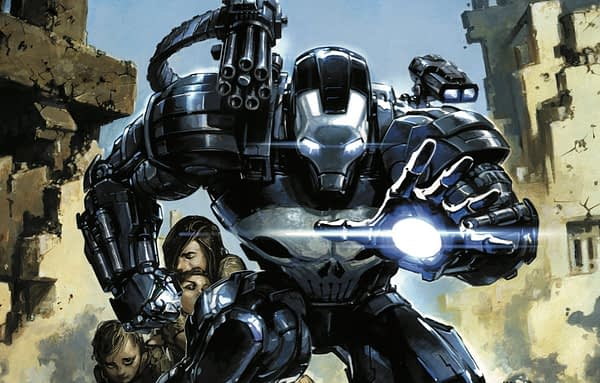 The Punisher #220 cover by Clayton Crain