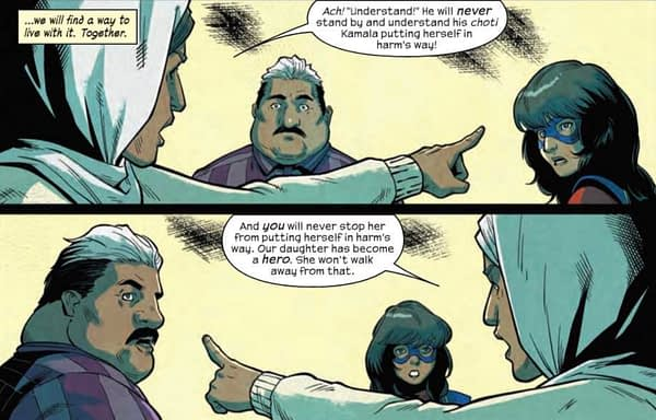 Is It Possible for Parents to Be Too Supportive? Magnificent Ms. Marvel #3 Preview
