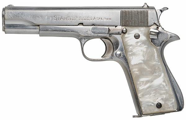 Star Model B 9mm pistol_PulpFiction