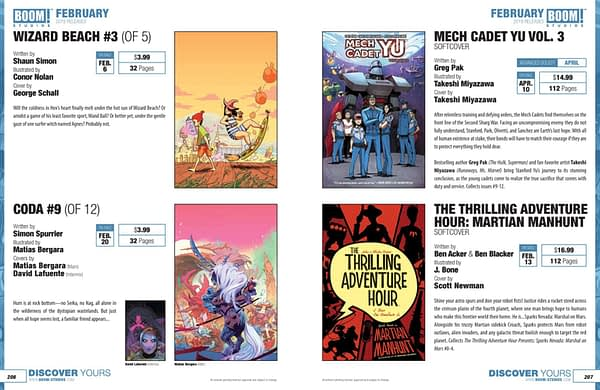 Full Boom Studios Catalog for February 2019 - With Hotel