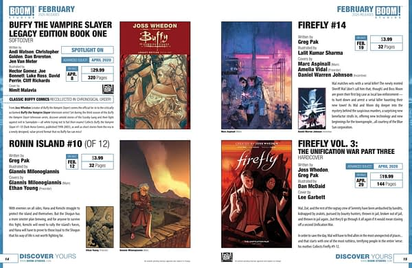 Alienated, We Served The People, Eat And Love Yourself and Wonder Pony Launch in Boom Studios February 2020 Solicitations