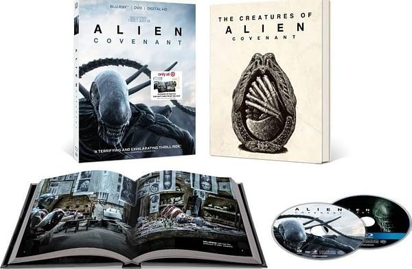 Alien Covenant Blu ray Book Target
