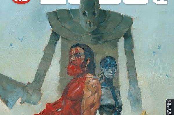 Cover to 2000 AD #2050 by Simon Davis