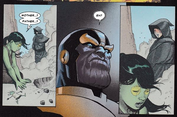 Gamora Gets A Brand New Origin in Thanos #1 (Spoilers)