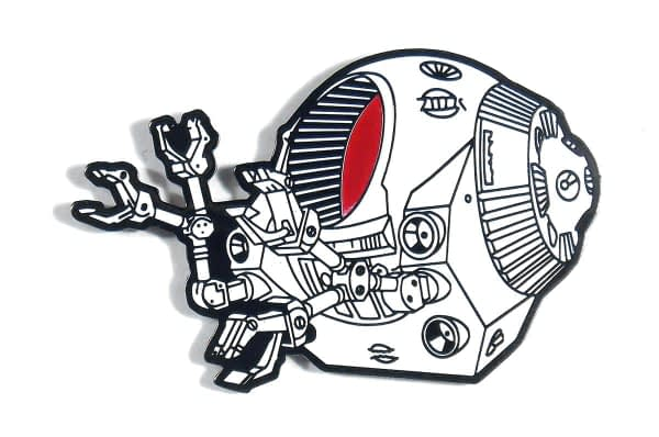 2001 A Space Odyssey Lapel Pin EVA Pod SDCC Exclusive
