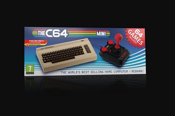 Another Mini Retro Console is Coming: The C64 Mini