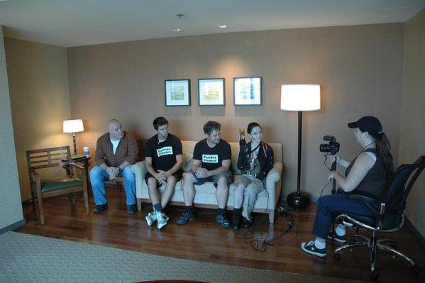 TKC Creators Interviewed by CNN at SDCC 2012