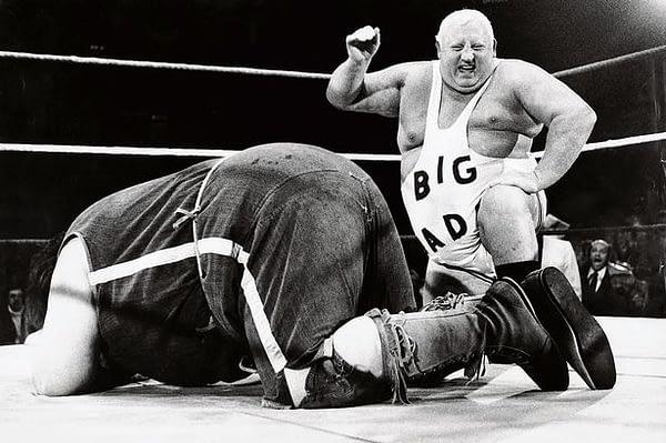 Big-Daddy-v-Giant-Haystacks-at-Wembley-1981
