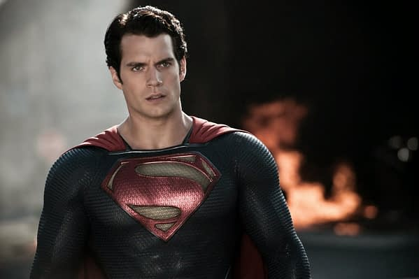 Superman Henry Cavill Wields A Chainsaw To Help Out