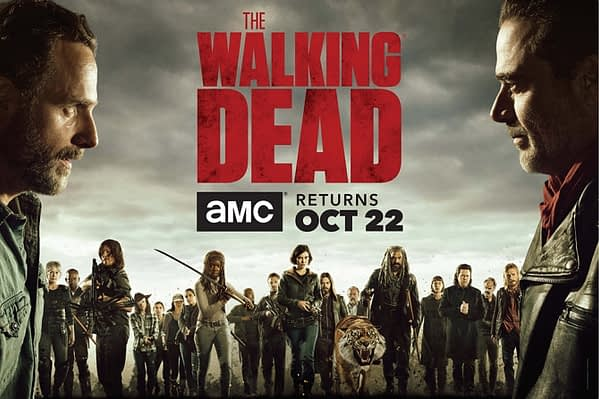 Promo for Walking Dead Season 8