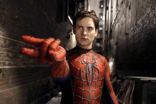 Spiderman 2 movie image Tobey Maguire