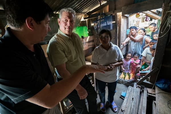 Al Gore appears in An Inconvenient Sequel: Truth to Power by Bonni Cohen and Jon Shenk, an official selection of the Documentary Premieres program at the 2017 Sundance Film Festival. Courtesy of Sundance Institute.
