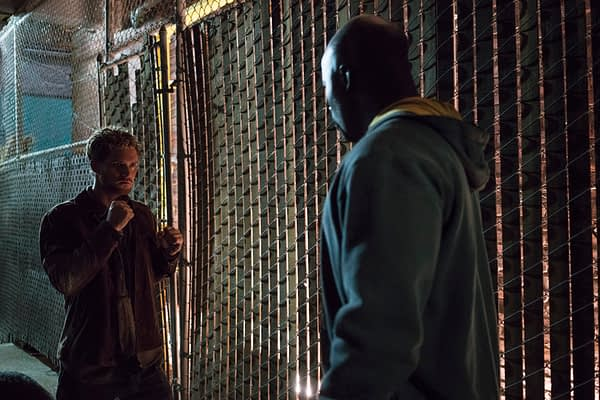 The Defenders -- Danny Rand and Luke Cage