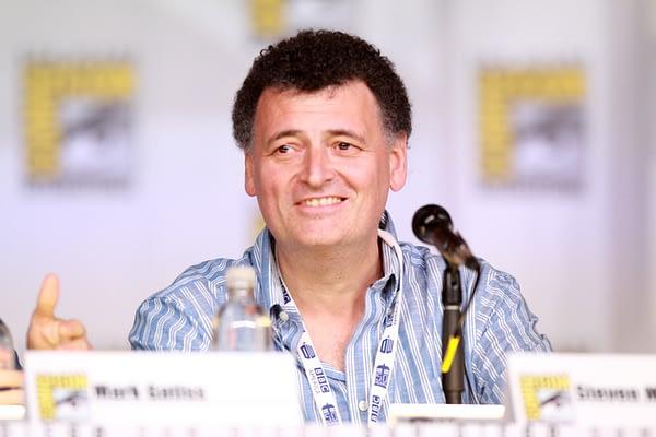 Steven Moffat at San Diego Comic-Con 2013