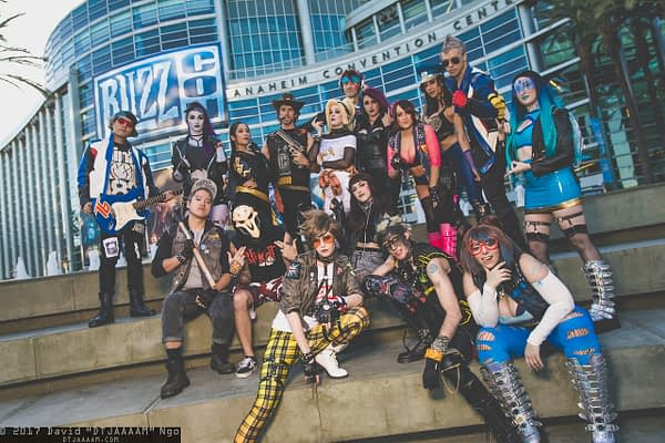 Saturday Cosplay At BlizzCon 2017