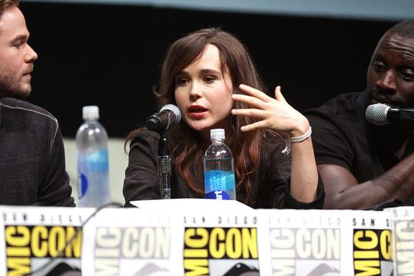 Ellen Page at Comic-Con International
