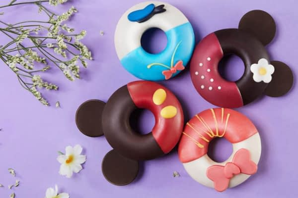 mickey mouse disney donuts