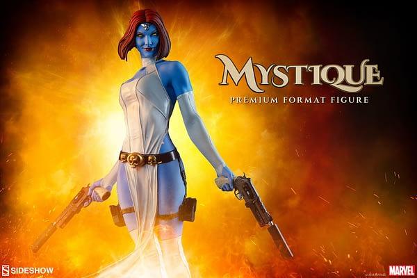 Mystique Sideshow Premium Format Figure 1