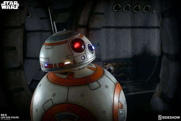 Sideshow Collectibles Star Wars Life Size BB-8 3