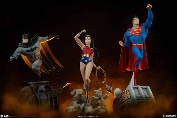 Sideshow Collectibles Batman The Animated Series Batman Statue 11