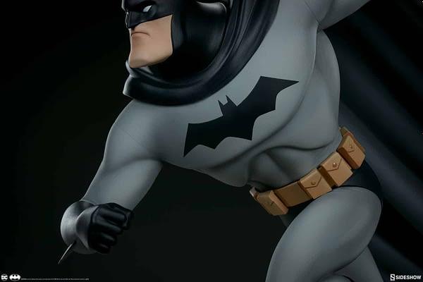 Sideshow Collectibles Batman The Animated Series Batman Statue 6
