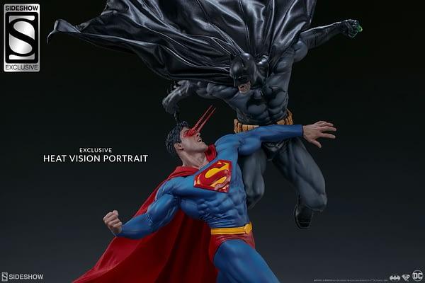 Superman Vs Batman Diorama Statue Sideshow 16