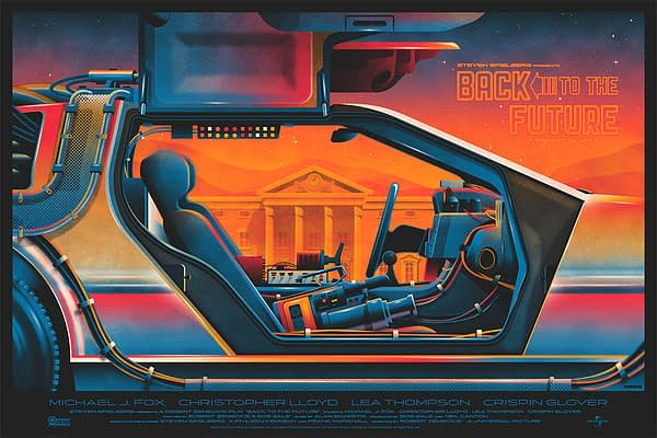 Mondo Back to the Future Poster 1