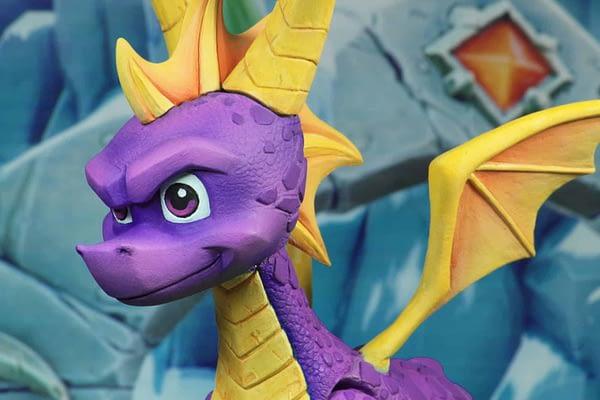 NECA Spyro The Dragon Figure 3